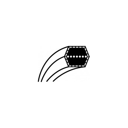 Courroie de lame autoportée tracteur tondeuse MTD,CUB-CADET AA88