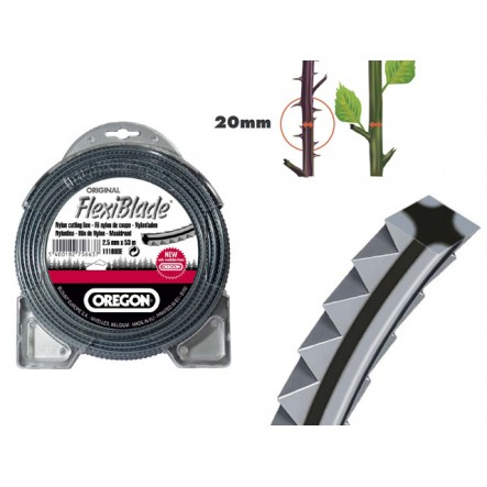 Fil nylon débroussailleuse FLEXIBLADE 3.0 mm