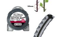 Fil nylon débroussailleuse FLEXIBLADE 2.5mm