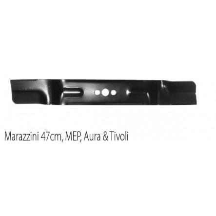 Lame tondeuse MEP, Marazzini 47cm